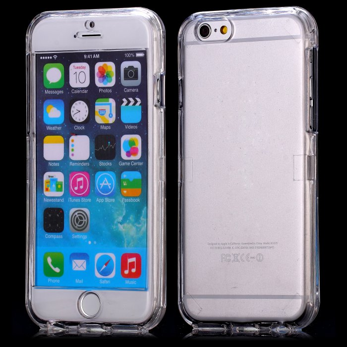 coque integrale crystal pour apple iphone 6