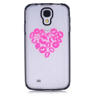 Coque transparente I love animals Samsung Galaxy s4