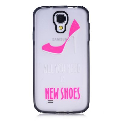 Coque transparente All you need is new shoes Samsung Galaxy s4
