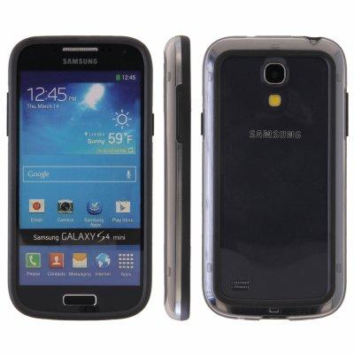 Bumber crystal et noir Samsung Galaxy S4 mini i9190