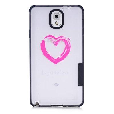 Coque transparente Loyal to love Samsung Galaxy Note 3