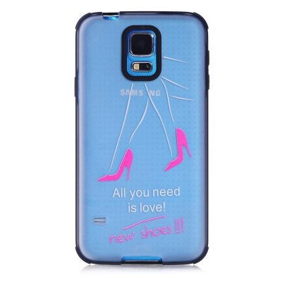 Coque transparente All you need is shoes Samsung Galaxy S5