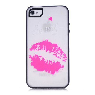 Coque transparente So sexy phosphorescent pour Apple iPhone 4/4S