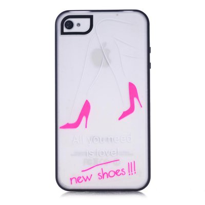 Coque transparente All you need is love phosphorescent pour Apple iPhone 4/4S