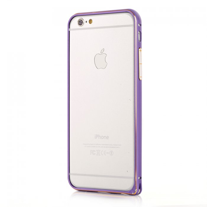 Bumper métallique violet pour Apple iPhone 6