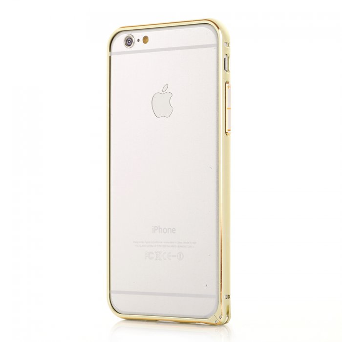 Bumper métallique gold pour Apple iPhone 6