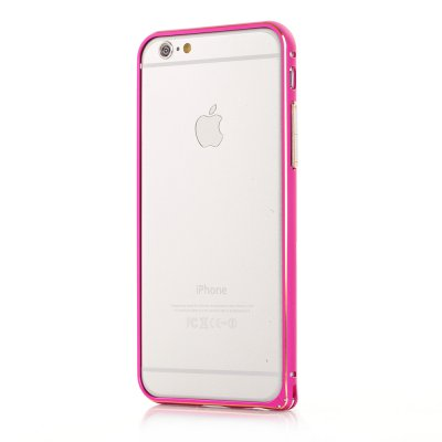 Bumper métallique rose pour Apple iPhone 6
