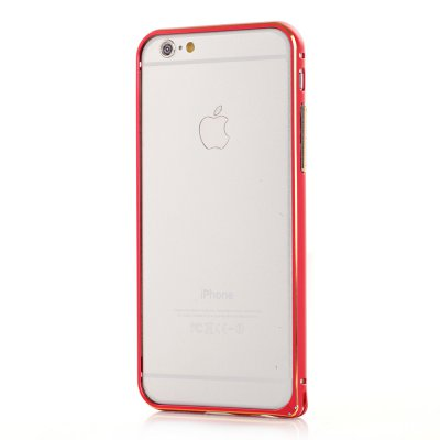Bumper métallique rouge pour Apple iPhone 6
