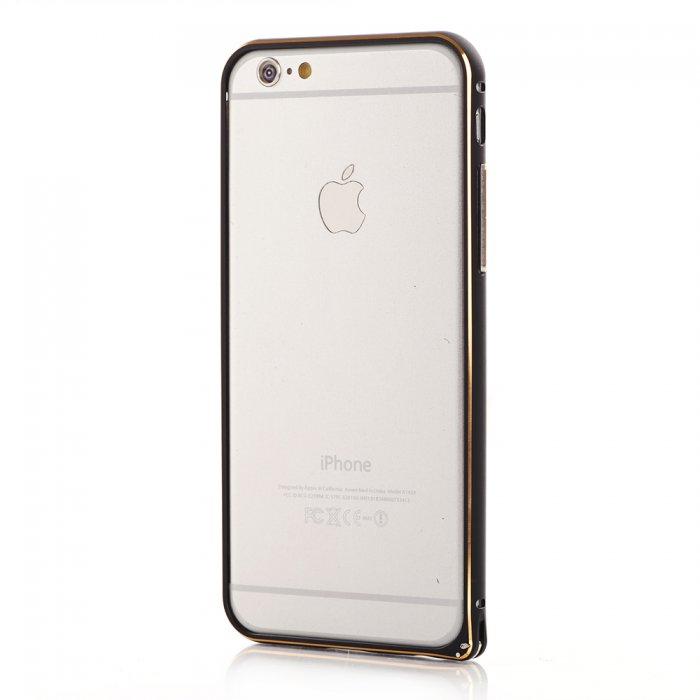 Bumper métallique noir pour Apple iPhone 6