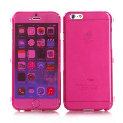 Etui livre rose transparent pour Apple iPhone 6