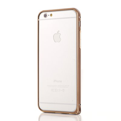 Bumper métallique marron pour Apple iPhone 6 Plus