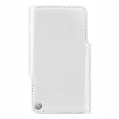 Etui SwitchEasy en cuir blanc pour iPhone 4/4S