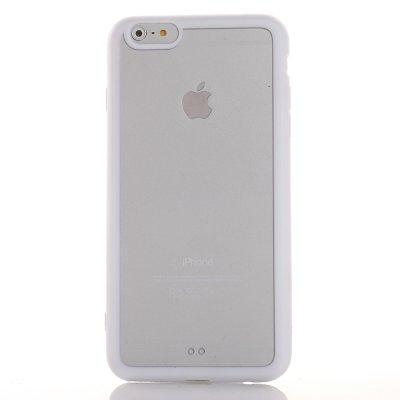 Coque transparente avec bumper blanc pour Apple iPhone 6 Plus