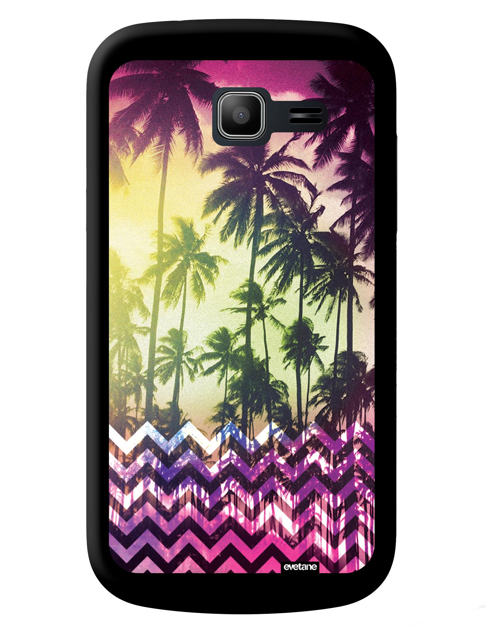 COQUEDISCOUNT Coque Palmiers pour Samsung Galaxy Trend Lite S7390