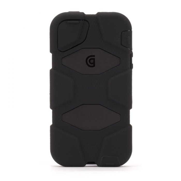 coque griffin survivor all terrain iphone 5 s noir