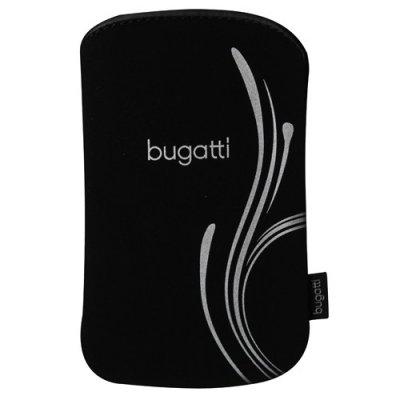 Etui slim case Bugatti noir argent 73x122cm (M)
