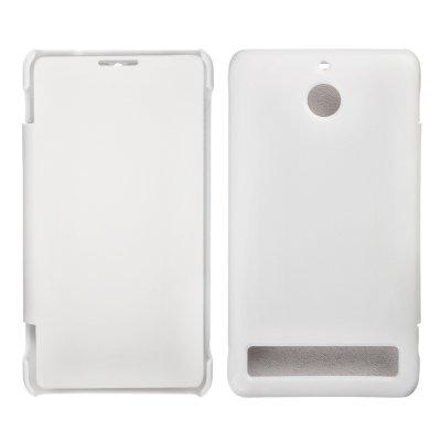 Etui livre blanc pour Sony Xperia E1