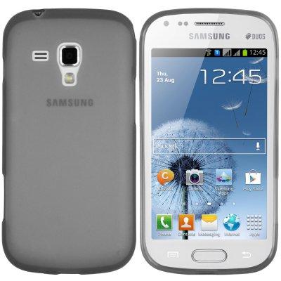 Coque TPU gris ultra-slim pour Samsung Galaxy S Duos