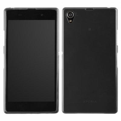 Coque TPU gris ultra-slim pour Sony Xperia Z1
