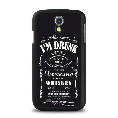 Coque rigide I'm Drunk pour Samsung Galaxy S4