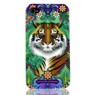 Coque rigide tigre Catalina Estrada pour Apple iPhone 4/4S