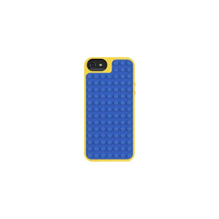 coque rigide belkin lego bleue et jaune pour iphone 5 5s