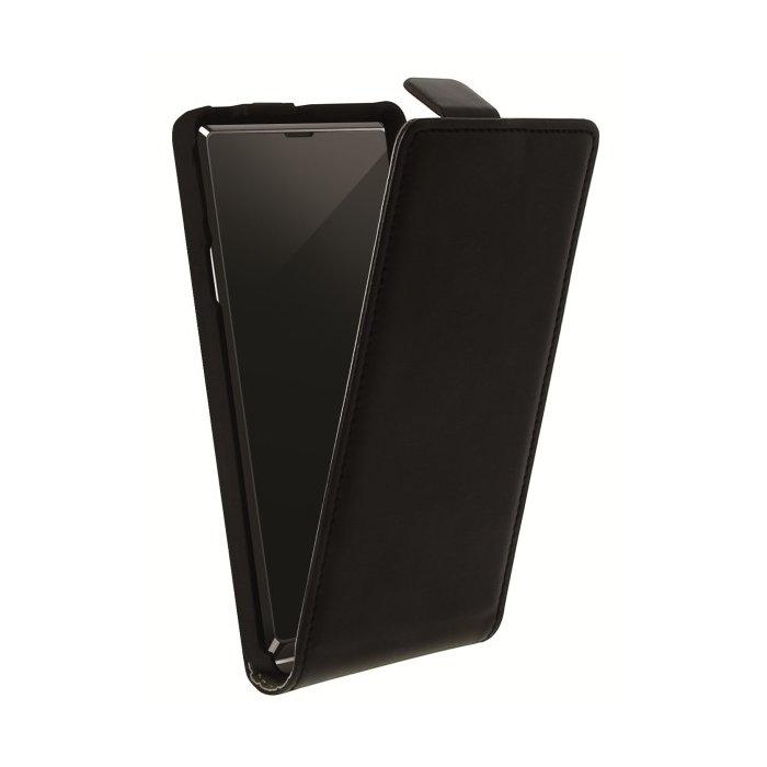 Etui à rabat noir pour Sony Xperia L