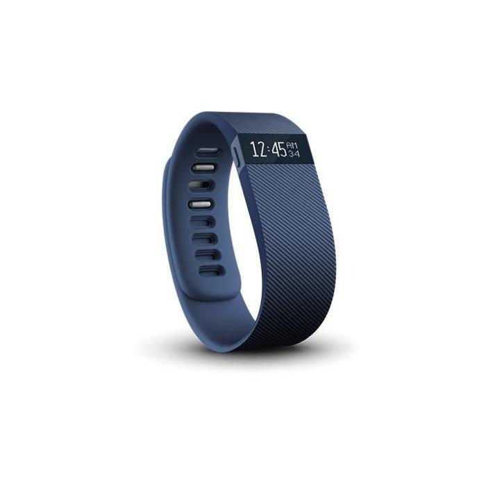 Fitbit Charge Bracelet bleu taille L tracker d'activités et de sommeil