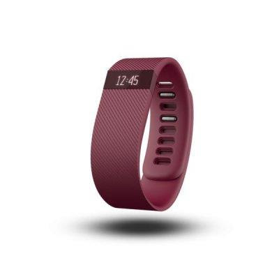 Fitbit Charge Bracelet Bordeaux taille L tracker d'activités/de sommeil