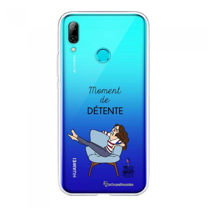 Coque Souple Huawei P Smart 2019 souple transparente Moment de détente Motif Ecriture Tendance La Coque Francaise