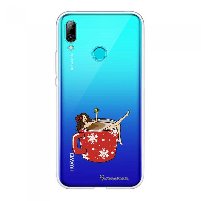 Coque Souple Huawei P Smart 2019 souple transparente Chocolat Chaud Motif Ecriture Tendance La Coque Francaise