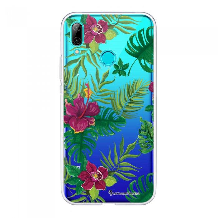 Coque Huawei P Smart 2019 souple transparente Tropical Motif Ecriture Tendance La Coque Francaise.