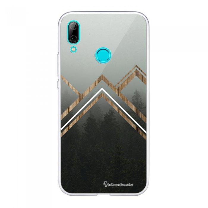 Coque Huawei P Smart 2019 souple transparente Trio Forêt Motif Ecriture Tendance La Coque Francaise.