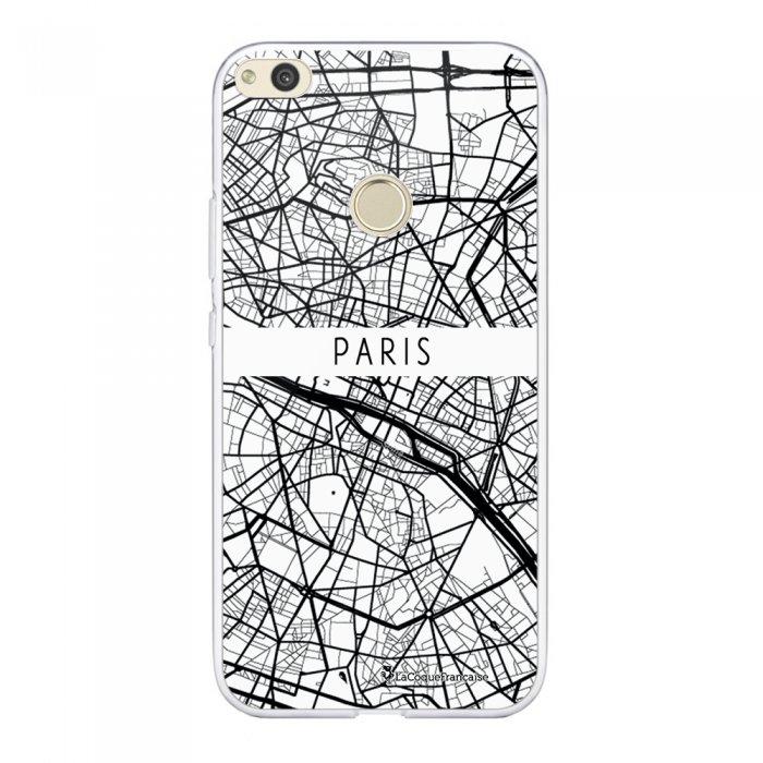 Coque Huawei P8 Lite 2017 souple transparente Carte de Paris Motif Ecriture Tendance La Coque Francaise.