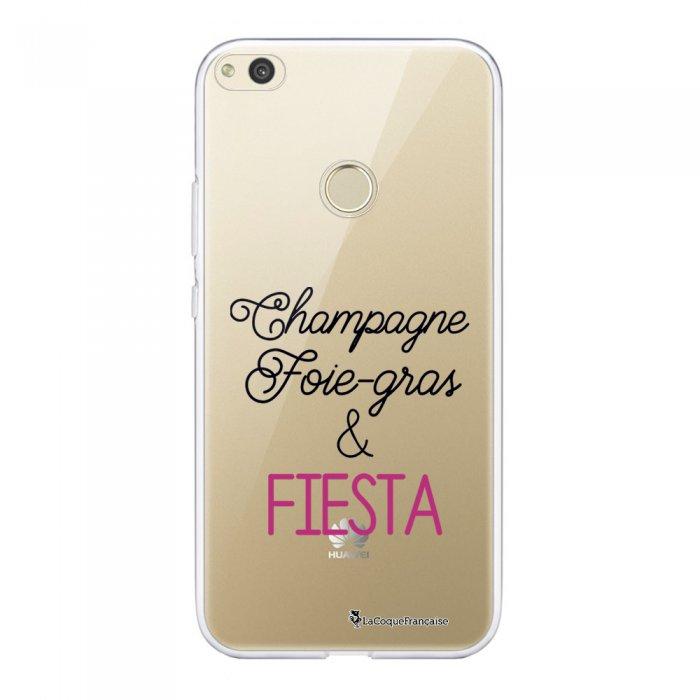 Coque Huawei P8 Lite 2017 souple transparente Champ et Fiesta Motif Ecriture Tendance La Coque Francaise.