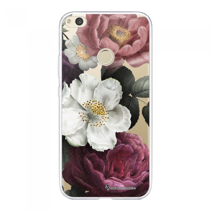 Coque Huawei P8 Lite 2017 souple transparente Fleurs roses Motif Ecriture Tendance La Coque Francaise.
