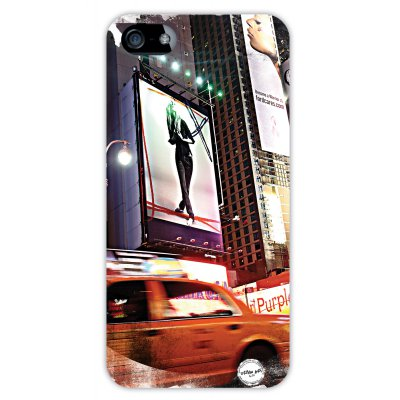 URBAN ART by DS coque Time Square pour Apple iPhone 5/5S