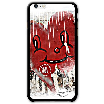 URBAN ART by DS coque Smiley Heart pour Apple iPhone 6