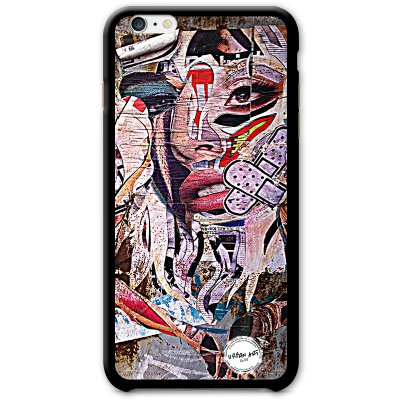 URBAN ART by DS coque Lady Sparadra pour Apple iPhone 6