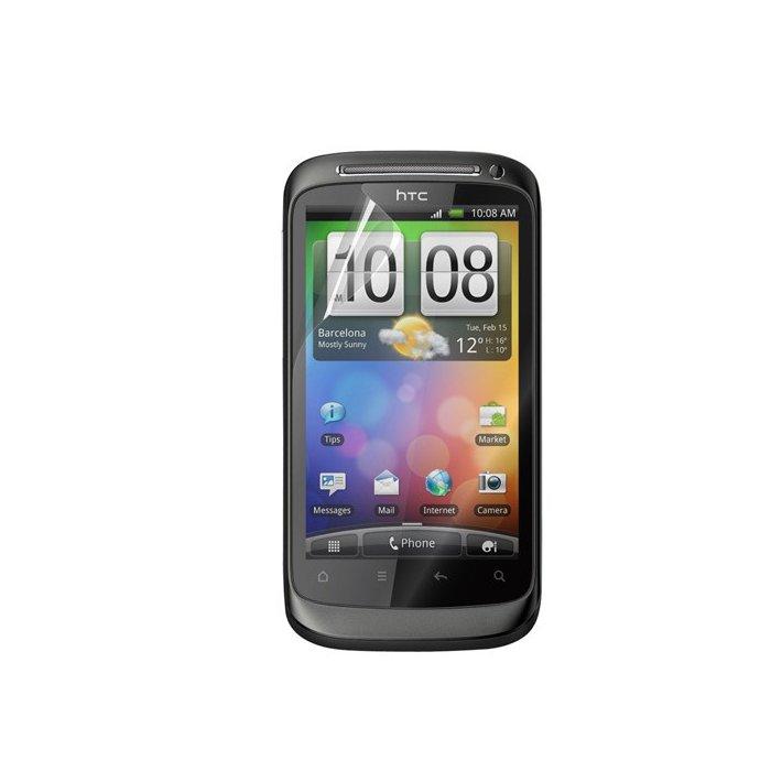 Set de deux films protecteurs d'écran Muvit pour HTC Desire S