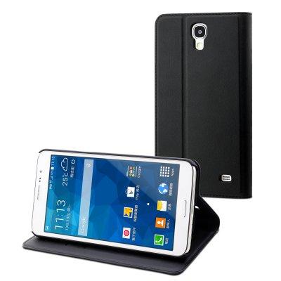 Etui Muvit slim s folio noir pour Samsung Galaxy Mega 2