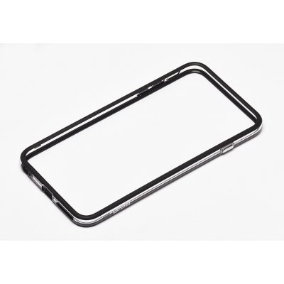 Gear4 contour pour Apple iPhone 6 Plus noir transparent verre trempé