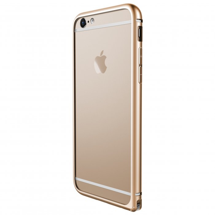 Bumper X-doria pour iPhone 6 or