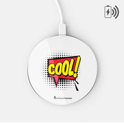 Chargeur Induction COOL Ecriture Tendance et Design La Coque Francaise
