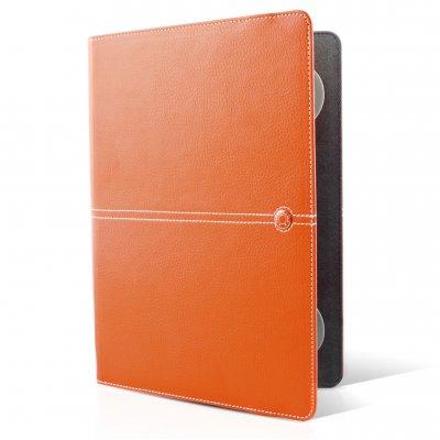 Etui Faconnable universel folio pour tablettes 9 et 10 pouces orange