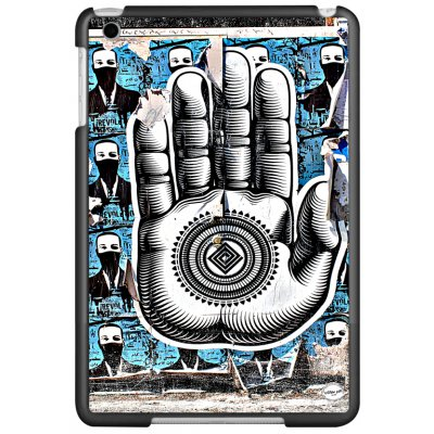 URBAN ART by DS coque Hamsa pour Apple iPad Mini