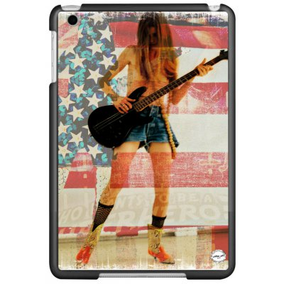 URBAN ART by DS coque Flag guitar pour Apple iPad Mini