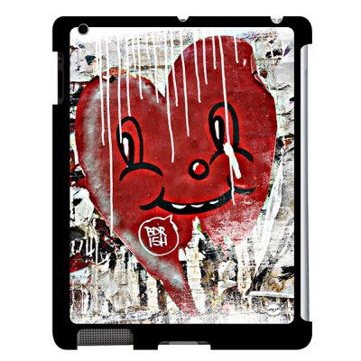 URBAN ART by DS coque Smiley heart pour Apple iPad 2/3/4