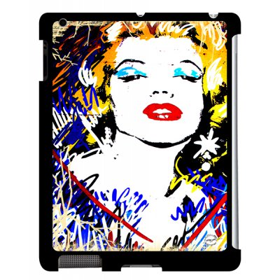 URBAN ART by DS coque Marilyn Colored pour Apple iPad 2/3/4