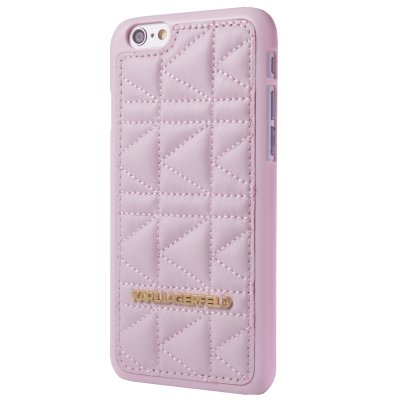 Karl Lagerfeld Coque Kuilted Rose Pour Apple Iphone 5/5s**